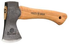 "Hults Bruk Hultafors 9.5"" Jonaker Hatchet w/ Leather Sheath Made in Sweden"