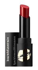 bareMinerals Mini STATEMENT LUXE SHINE Lipstick Matte Scarlet SRSLY RED 1.3g