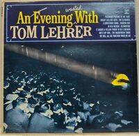 """""""An Evening Wasted with Tom Lehrer"""" Vinyl LP [Reprise R-6199] 12"""" 33RPM"""