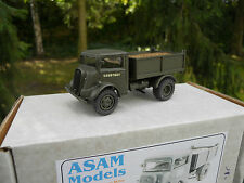 VEHICULE MILITAIRE ASAM MODELS REF HT 311 FORDSON 76V 4X2  TIPPER  MINT IN BOX