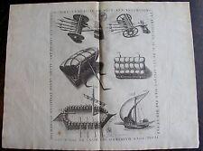 """THOMAS DE LEU. (1560-1612), PLANCHE 12 """"des fortifications  artifices ......1601"""