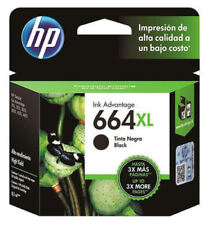 HP 664 XL Black Original Ink Cartridge Deskjet F6V31AL Printer (No Retail Box)