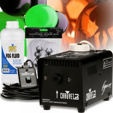 Chauvet Smoke Machine inc Fluid + 5 Large Halloween Balloons & Web Mist Fog 400w