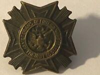 Older Vintage United States Veterans of Foreign Wars Eagle Lapel Pin Tie Tac  :