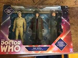 Dr Who The Fourth Doctor Collector Figure Set BNIB