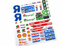 STICKERS for Lego 7848 60016 4432 3180 CUSTOM TRUCK BUILDS, Models, Toys, Etc