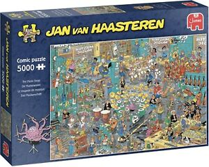 Jumbo Jan Van Haasteren The Music Shop 5000 Piece Jigsaw Puzzle BRAND NEW SEALED