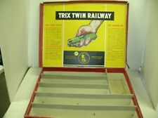 TRIX TWIN RAILWAY EMPTY SET BOX...LID IS TORN OFF BOX....MAKE OFFERS