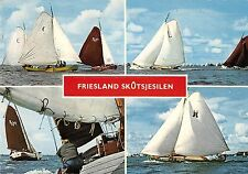 B98755 friesland skutsjesilen netherlands  ship bateaux