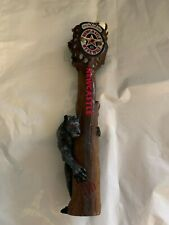 New listing New castle Were wolf beer tap handle (used)
