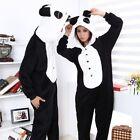 NEW  Onesie Unisex Adult Pajamas Kigurumi Cosplay Costume Animal Sleepwear Panda