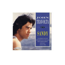 John Travolta - Sandy - 20 TRACK MUSIC CD - LIKE NEW - I313