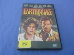 EarthQuake DVD Charlton Heston Lorne Greene Ava Gardner R4 Free Tracked