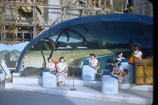 1950's Japan  35mm Red Border Film Slide Japanese Ladies Giving Concert S6