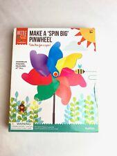 Toysmith Beetle & Bee Make A Spin Big Pinwheel