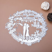 Wedding Metal Cutting Dies Scrapbooking Stencils Card Embossing Album Paper DIY
