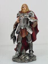 Norse Viking Decorative Supreme God Odin Large Figurine Statue Paganism Colored