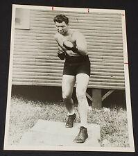 1930-1940's - JACK DEMPSEY - POLICE GAZETTE - BOXING PRESS PHOTO - ORIGINAL
