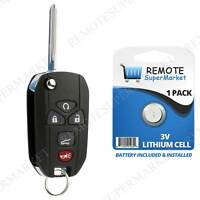 Replacement for Chevy Tahoe Traverse Remote Car Keyless Flip Key Fob 5b Suv