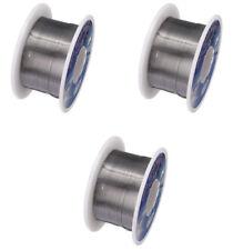 3X Thin 63/37 Tin/Lead Rosin Core Electronic Solder 3Pcs Rolls Thin .3mm Size