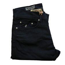 Jeans in cotne MARLBORO CLASSICS uomo pantalone regular tapered blu 5024