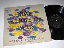 "10"" LP George Feyer MORE ECHOES OF PARIS Vox"