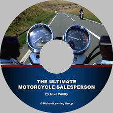 Motorcycle Sales Training - Selling Skills eBook on CD