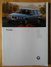 BMW 3 Series Touring 1996 1997 UK Market brochure prospekt - E36