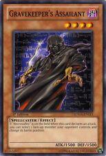 3x Yugioh SDMA-EN013 Gravekeeper's Assailant Common Card