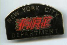 New York City Fire Department Lapel Pin