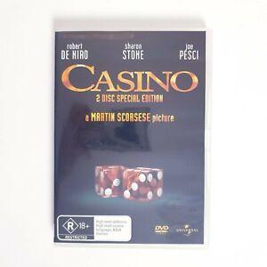 Casino Special Edition Movie DVD Region 4 AUS Free Postage - Drama