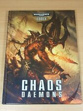 Warhammer Libro Tapa Dura DEMONIOS DEL CAOS Codex