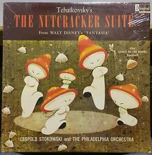 STOKOWSKI tchaikovsky nutcracker LP Mint- DQ-1243 Fantasia 1969 USA Walt Disney