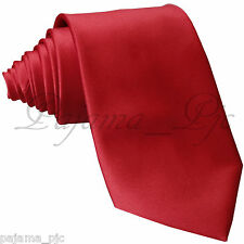 WHOLESALE PRICE Fire Red Brand New Men SelfTie Neck tie Tie Formal Party Wedding