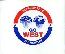 Pet Shop Boys Go West-The Remixes (1993) [Maxi-CD]