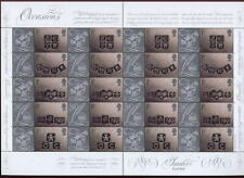 Gb Qe2. The Scarce 2001 Smilers Sheet Ingots, Ls4. Perfect Unfolded Mnh: