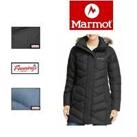 SALE! Marmot Women's Long Down Varma Parka Jacket Coat VARIETY SZ/CLR - I43