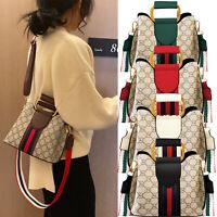 Small Women Crossbody Shoulder Bag PU Leather Handbag Classical Top Handle Purse