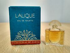 Lalique for Women EDT 4.5 ml miniature mini perfume New with box