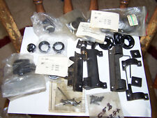 Weaver scope parts, windage rings?, bases, misc. rings, screws