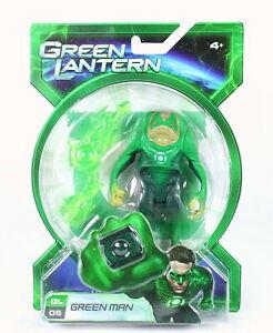 "THE GREEN LANTERN - GREEN MAN - GL05 - 4"" FIGURE TOY DC COMICS - MATTEL - NEW!"