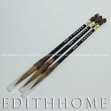 Chinese Calligraphy Brush  - Wolf Hair Changfeng Painting Brush 3pcs