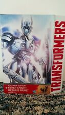 TRANSFORMERS SILVER KNIGHT OPTIMUS PRIME PLATINUM EDITION LEADER
