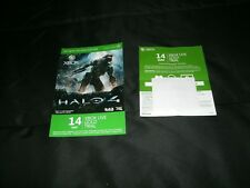 Xbox Live Gold Trial Cards Lot Of Two READ ENTIRE DESCRIPTION