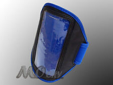Outdoor Gym Sport Armband Case for Samsung Galaxy Note N7000/2 N7100/I717 BLUE