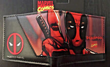 MARVEL Deadpool Wallet Purse Mens Kids Comics Movie PC PS4 Xbox Wii Awesome AUS!
