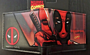MARVEL Deadpool Wallet Purse Mens Kids Comics Movie Superhero Avengers AUS PC