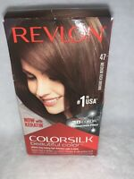 Revlon ColorSilk Hair Color 47 Medium Rich Brown