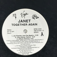 Janet Jackson Together Again Vinyl Record 1997 DJ Premier Remix Double Promo