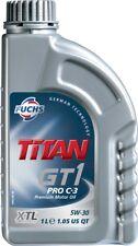 Fuchs Titan GT1 Pro C-3 5W-30 Motor Aceite Lubricante 1 Litro ACEA C3 API SN